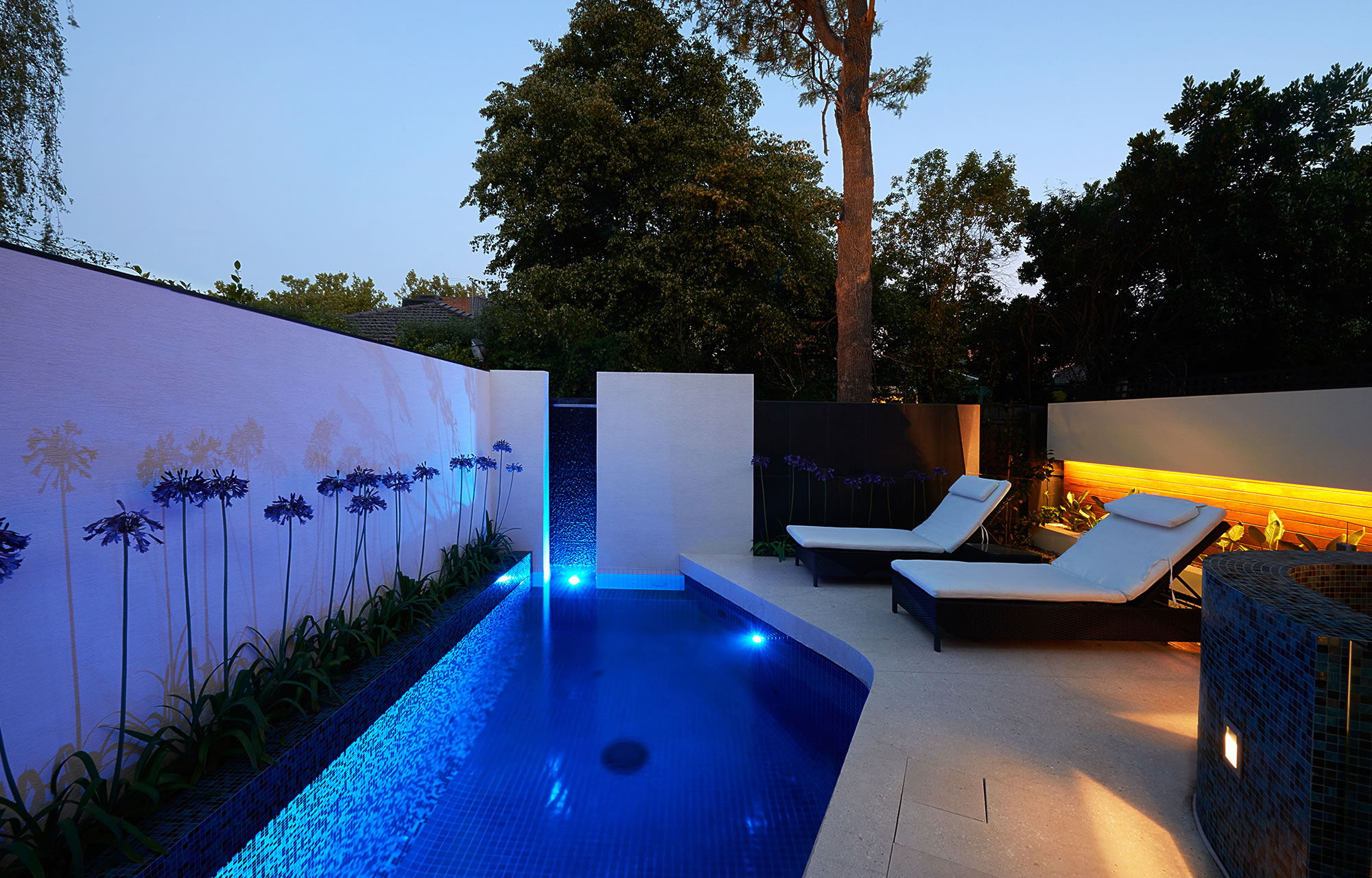 Modern Pool Designs And Landscaping. Oftb Melbourne \u2013 Swimming Pool  Builders, Landscape Architecture