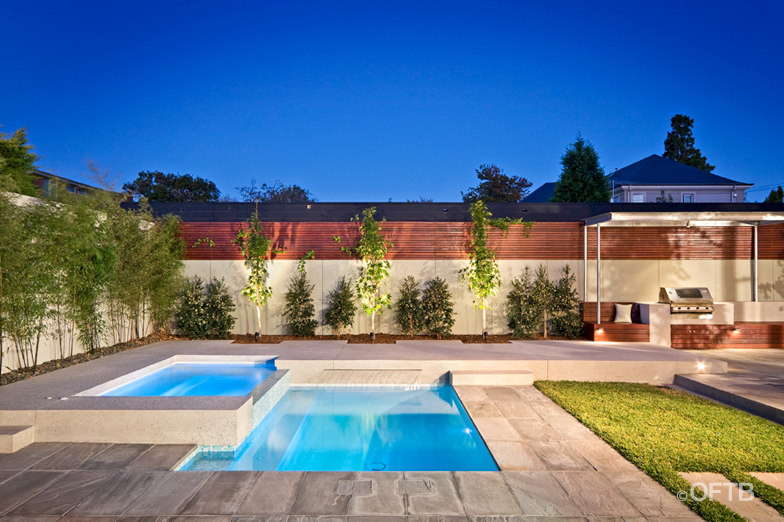landscaping around pool area projects oftb melbourne swimming pool builders landscape