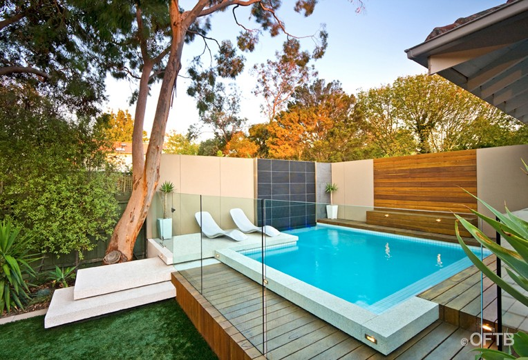 Oftb melbourne landscaping pool design construction for Pool design hamptons
