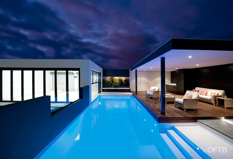 Oftb melbourne landscaping pool design construction for Pool design geelong
