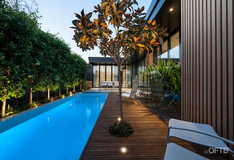 Oftb melbourne landscaping pool design construction for Pool designs victoria