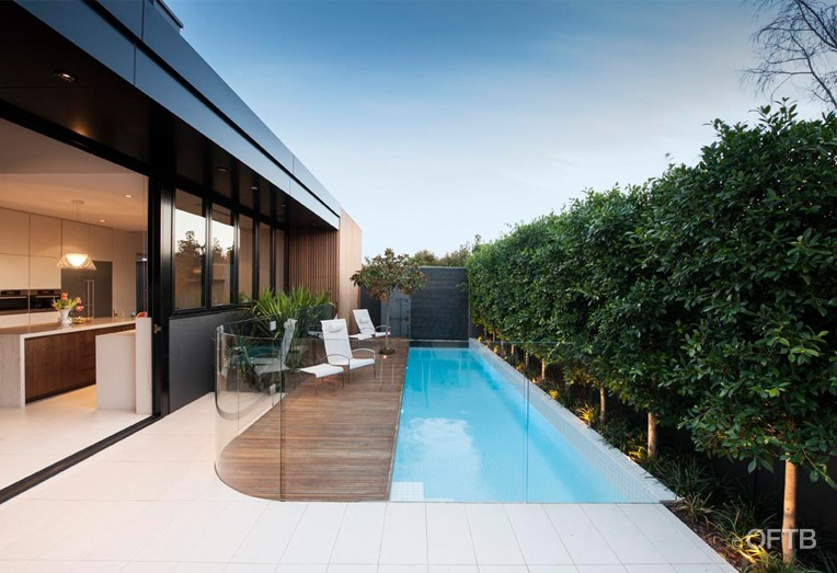 Oftb melbourne landscaping pool design construction for Residential landscape architects melbourne