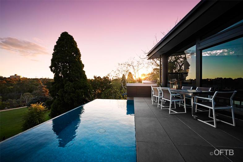 Oftb melbourne landscape architecture pool design for Landscape construction services adelaide