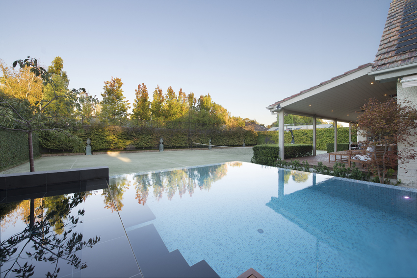 Oftb melbourne landscape architecture pool design for Landscape design christchurch nz