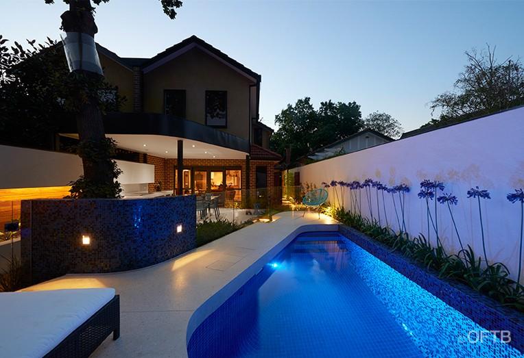 Oftb melbourne landscape architecture pool design for 50000 pool design