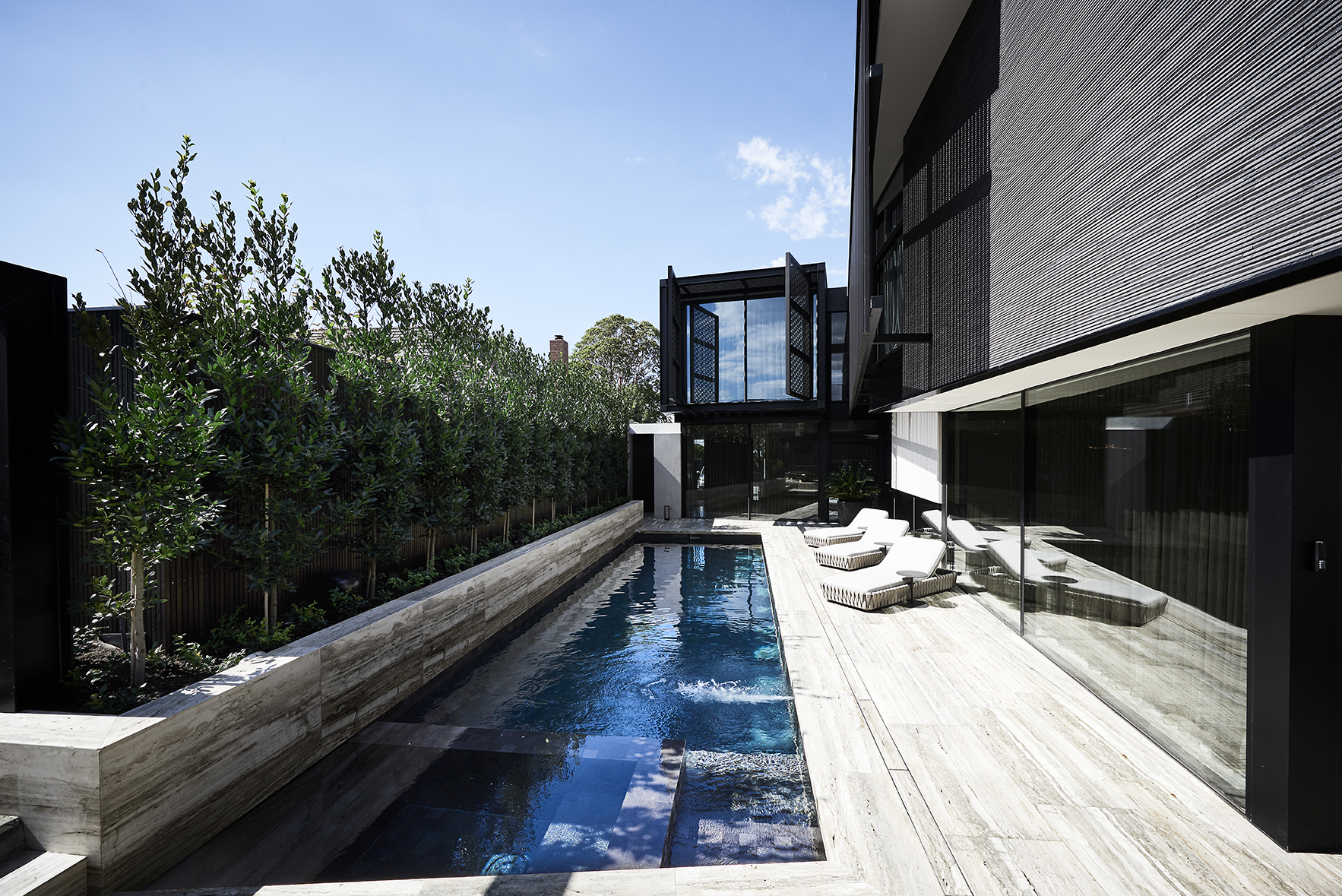 Projects Oftb Melbourne Swimming Pool Builders Landscape Architecture Design Custom